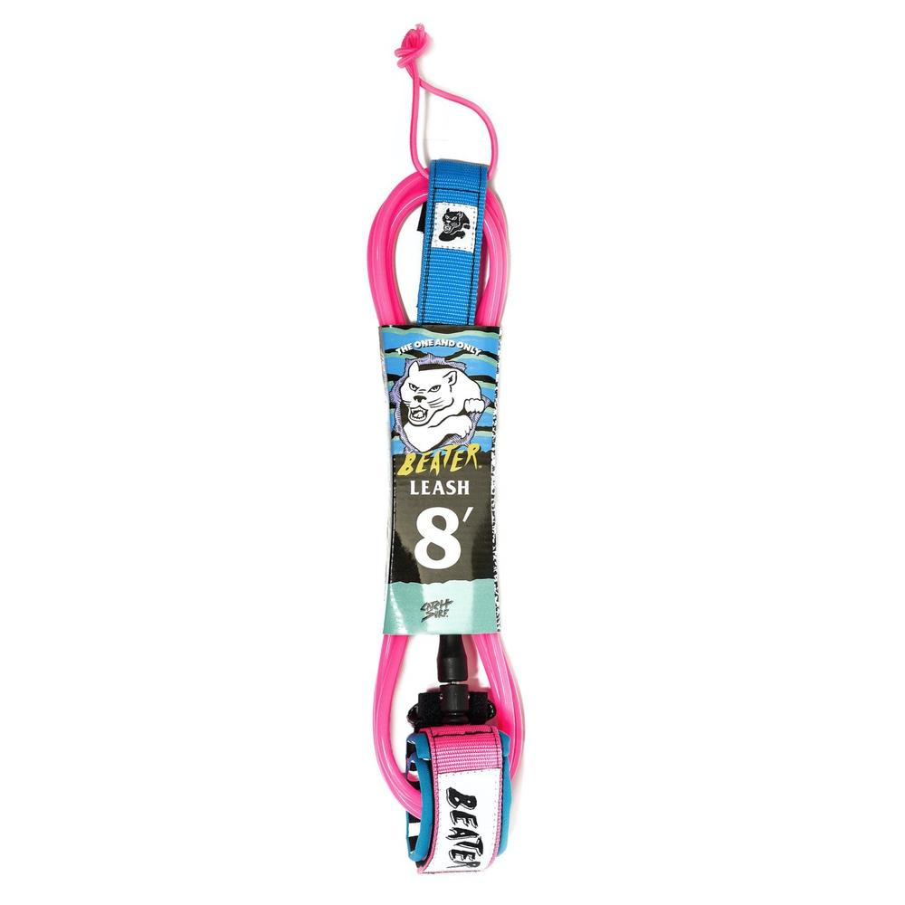 Leashes - Beater / Catch Surf - 8'  Pink/Blue