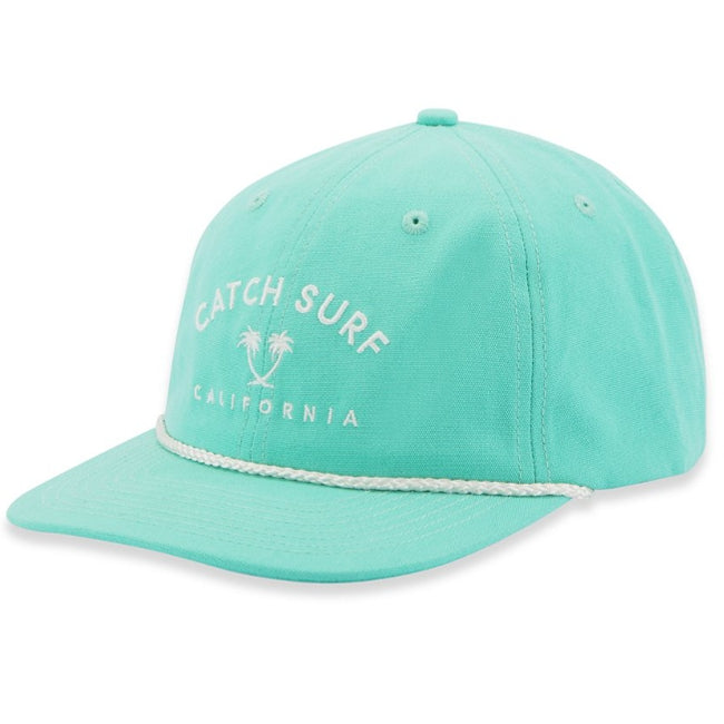 Caps -  Catch Surf - Cali Palms Hat - Aqua Marine - Surf Ontario