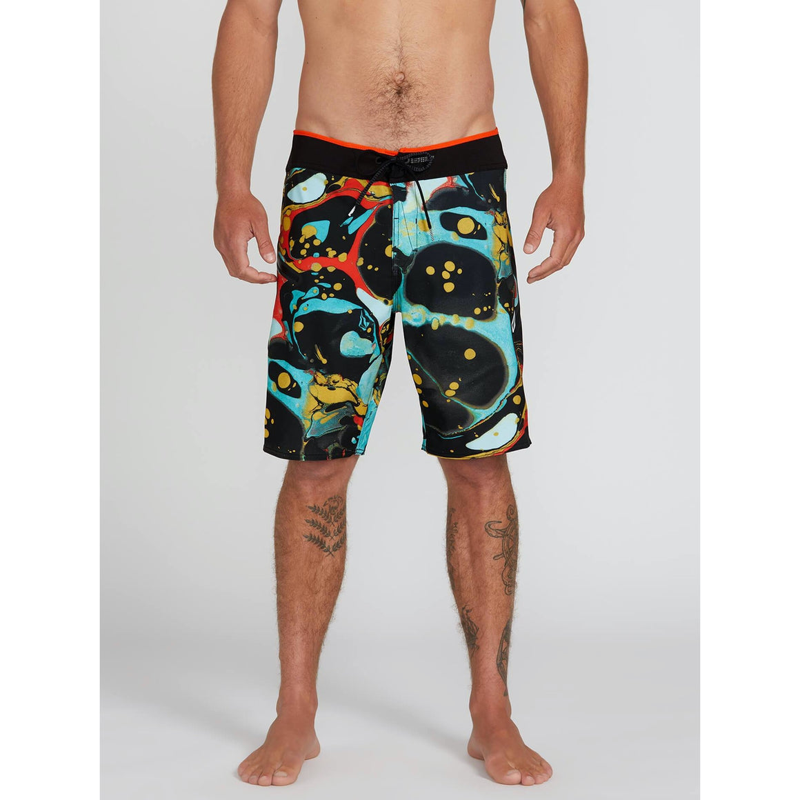 Boardshorts - Volcom Stone Plus Mod-Tech Trunks - Black