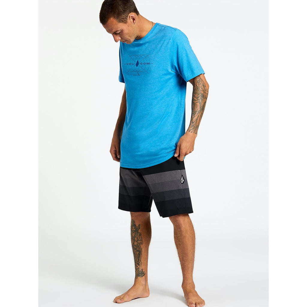 Boardshorts - Volcom Quarta Static Stoney - Black