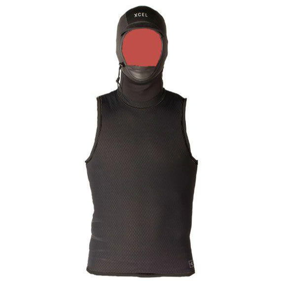2mm Vest XCEL Hooded Celliant Jacquard Vest w/Hood