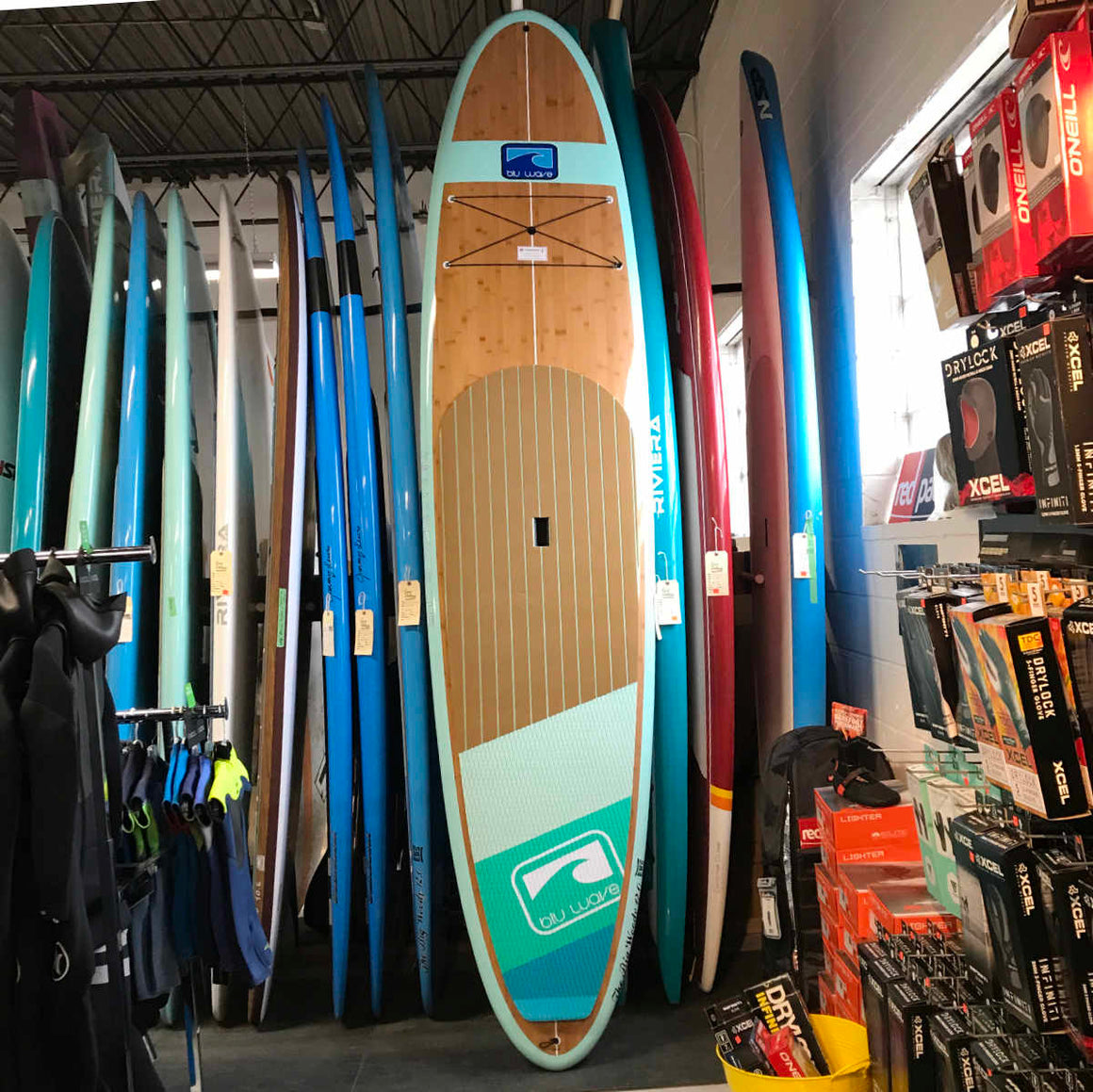 Blu Wave - The Big Woody 12.0 - Sea Foam Bamboo