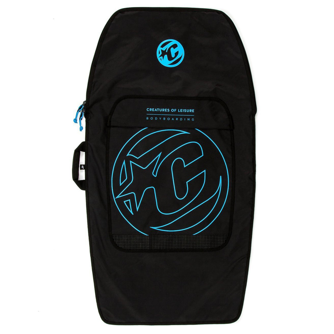 Creatures of Leisure - Bodyboard Lite (1 Brd) : Black Cyan