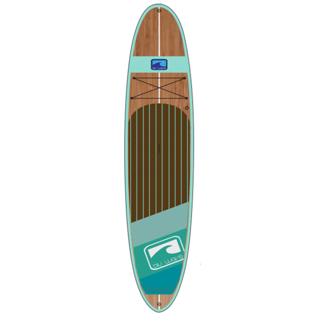 Blu Wave - The Big Woody 12.0 - Sea Foam Bamboo - Surf Ontario