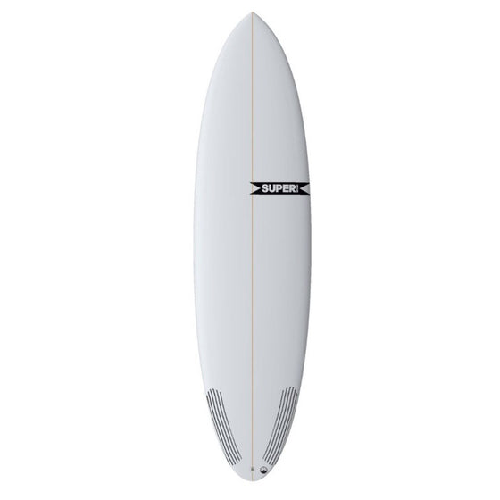 "Super Brand The Bigfoot 6' 8"" - Futures - Colour CLEAR - PU - Surf Ontario"