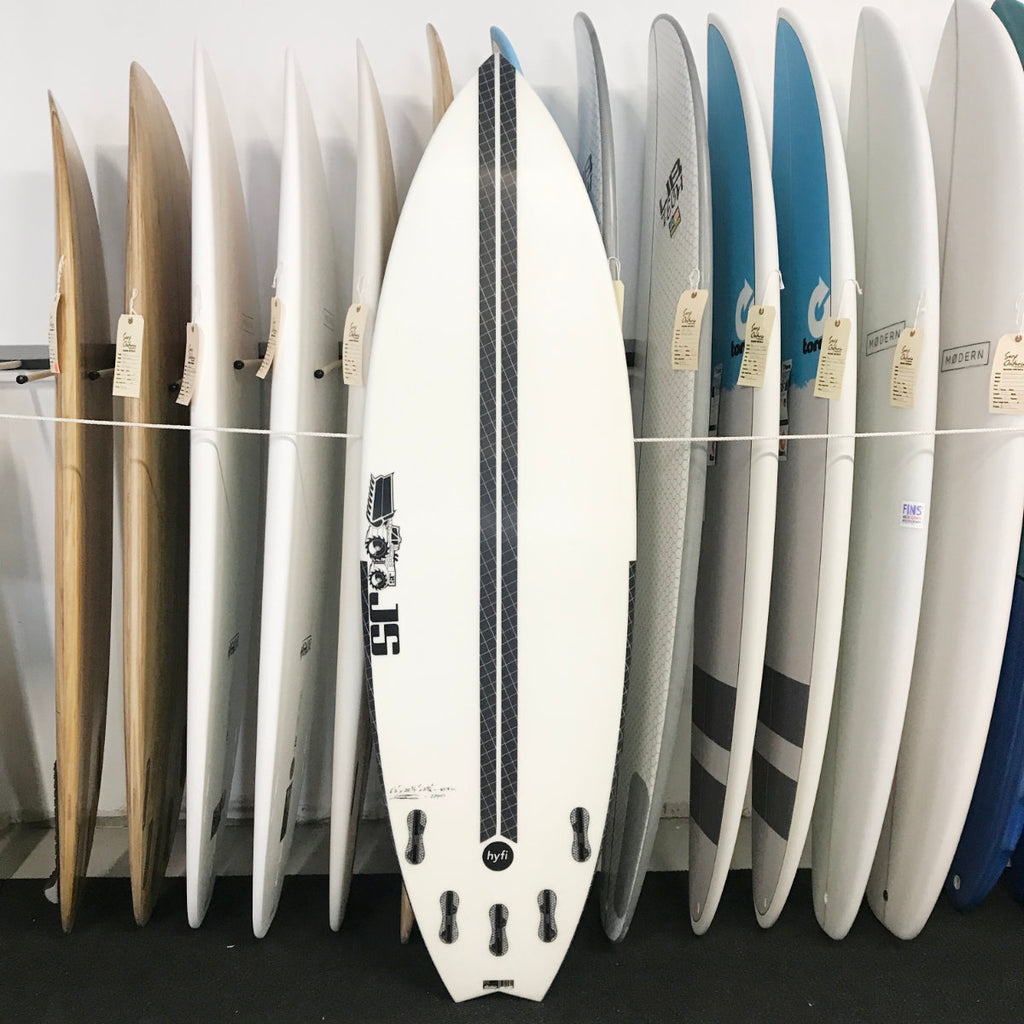 JS Industries - 6'2 Blak Box 3 Swallow Tail HYFI - 5 FCS2