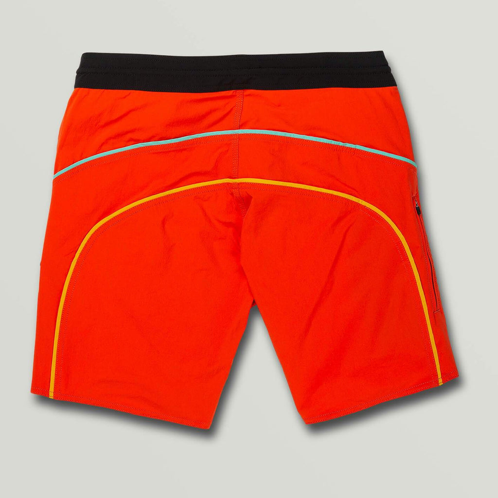 Boardshorts - Volcom Rainbow Bridge Stoneys Trunks - Pepper Red