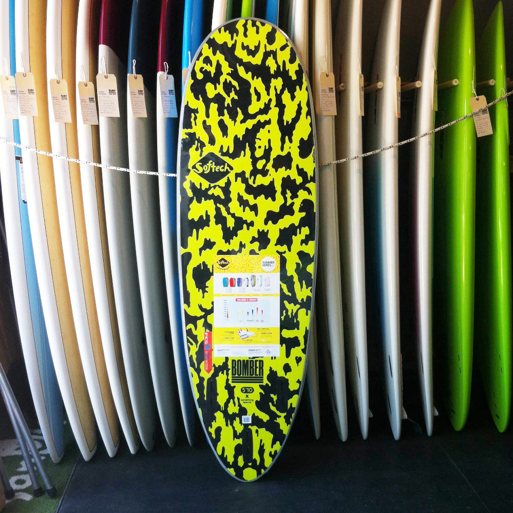 Softech Bomber FCS II 5'10 Grey/Acid