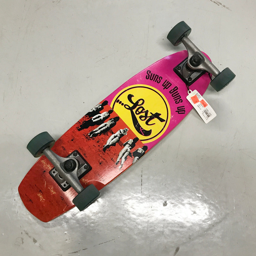 "Lost Skateboards - Bun Club 24"" (shop scuffed) - Surf Ontario"