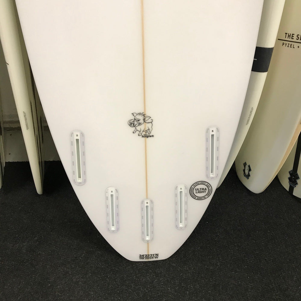 Channel Islands Hoglet 5'11 - 5 fin FUT - Clear finish - Surf Ontario