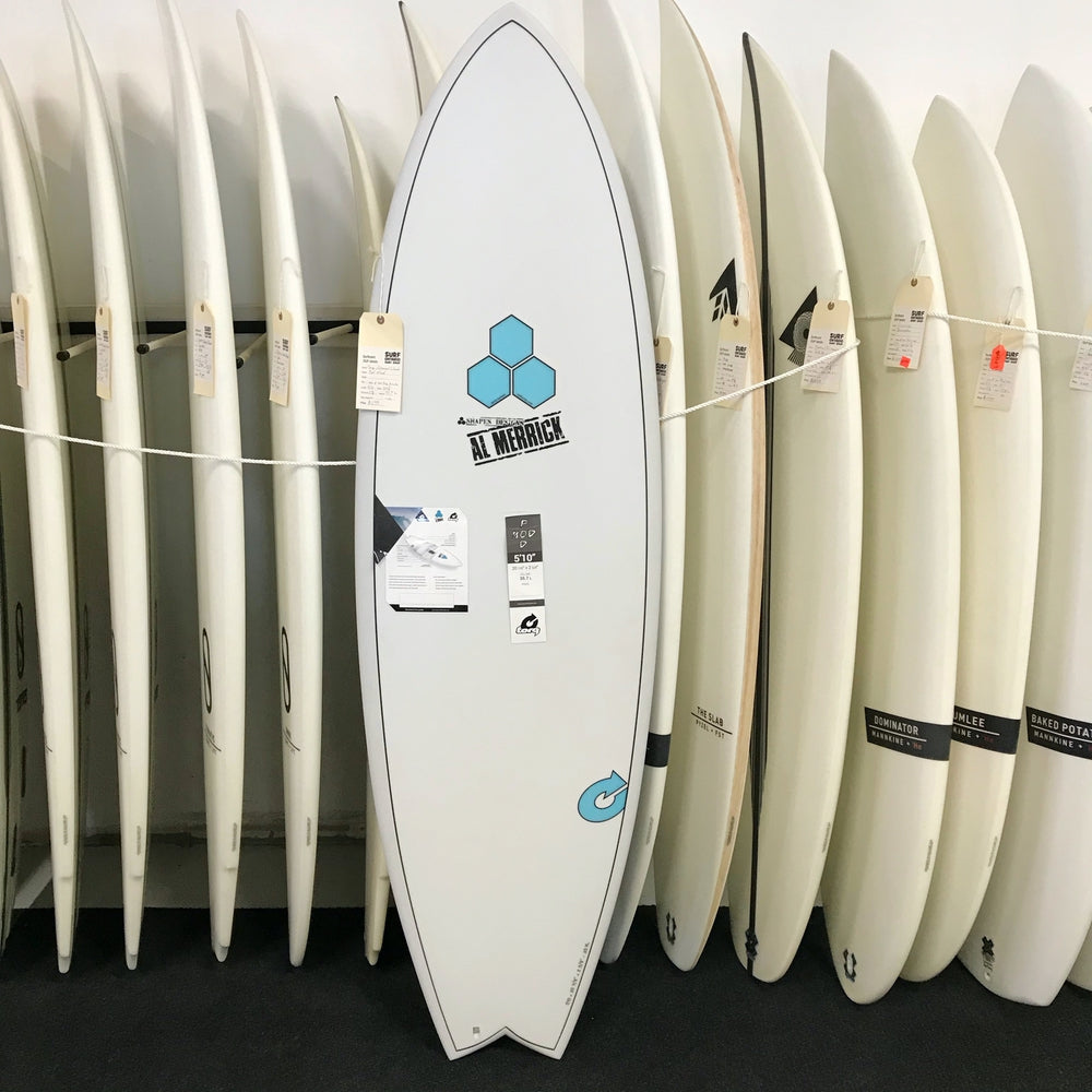 Channel Islands PodMod 5'10 - 5 fin FUT - X-LITE - Surf Ontario