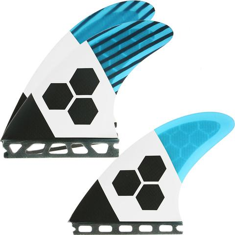 Futures THRUSTER - Channel Islands FUT-RTM-TECH2 3-fin (M) Blue/Carbon/White TECH 2 Medium