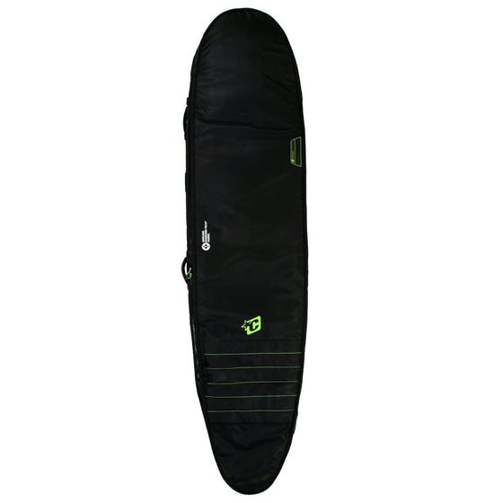 Creatures of Leisure board bag - Longboard Double: Black Lime