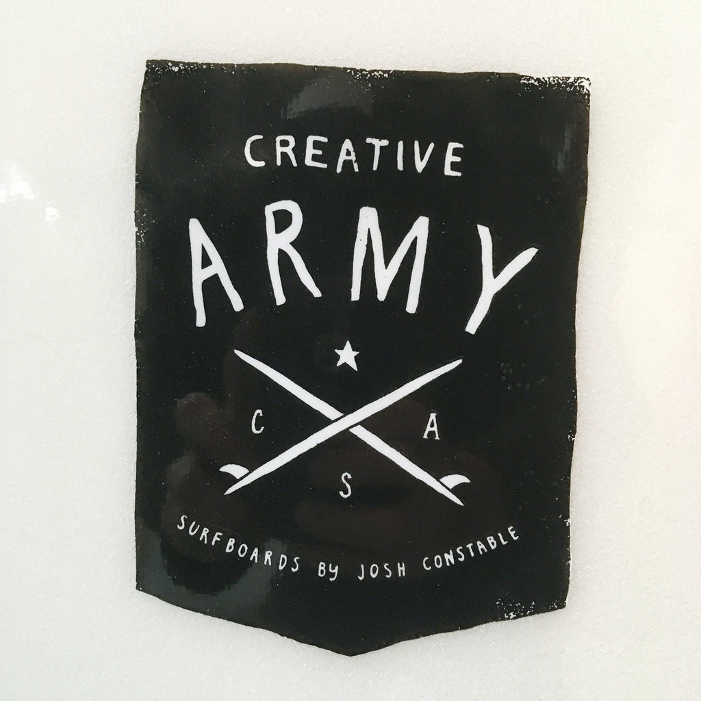 Creative Army - Five Sugars 9'1 - Poly - Clear Double Stringer