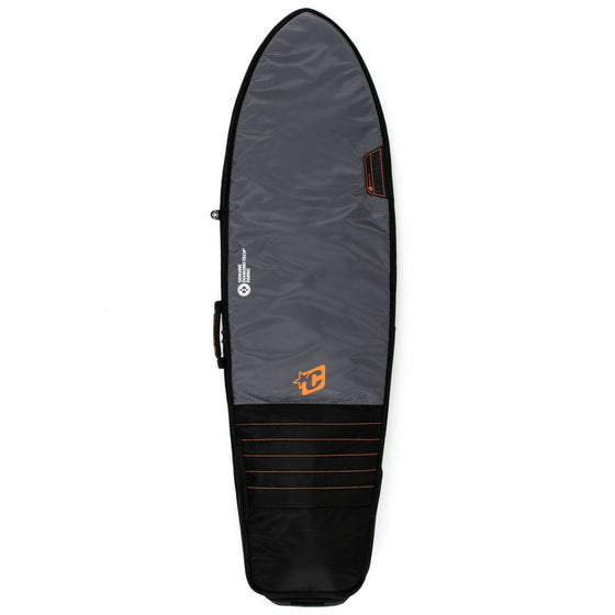 Creature of Leisure board bag - Fish Travel: Black Orange - Surf Ontario