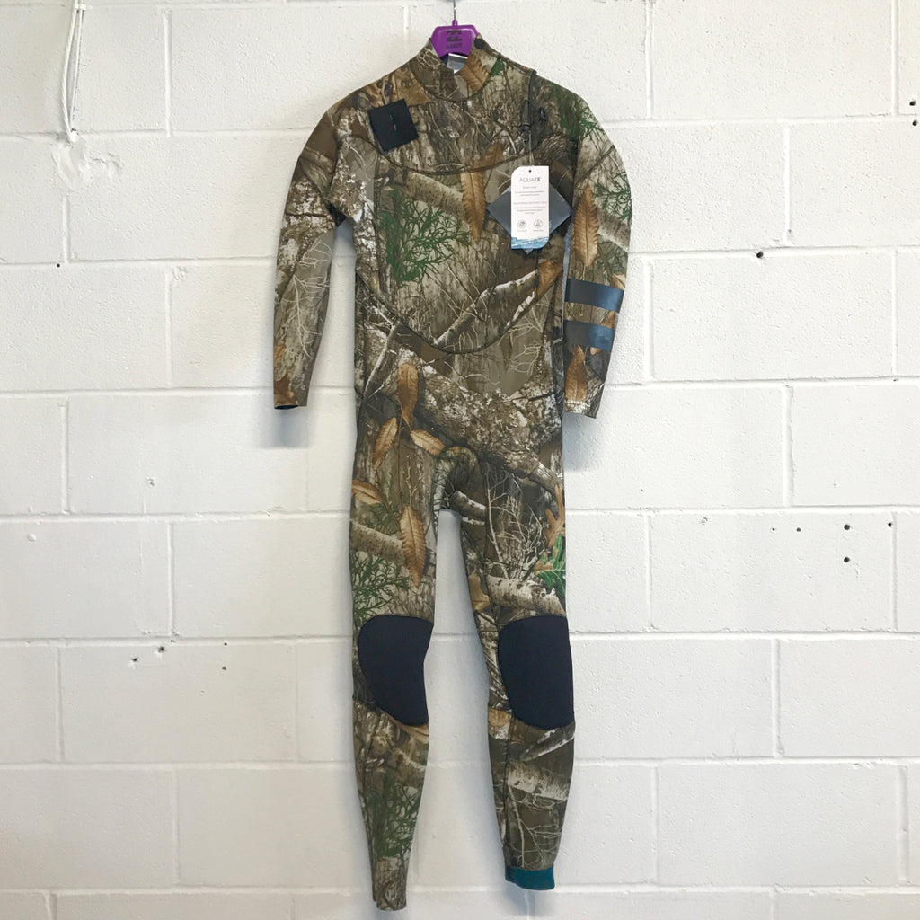 3/2 Men's Hurley Advantage Plus Fullsuit - EDGE CAMO	256