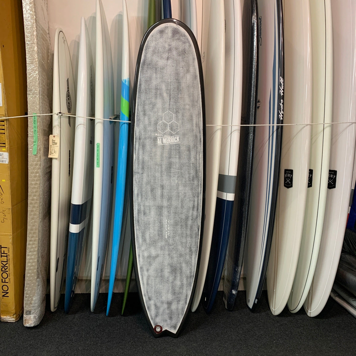 Channel Islands - Quong 7'2 FCS2 5 fin Thunderbolt Technologies