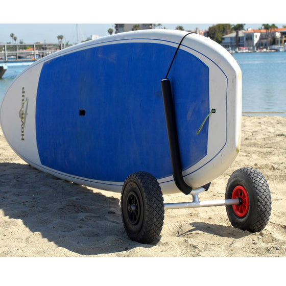 COR Surf SUP/Paddleboard Cart with Large Beach Wheels