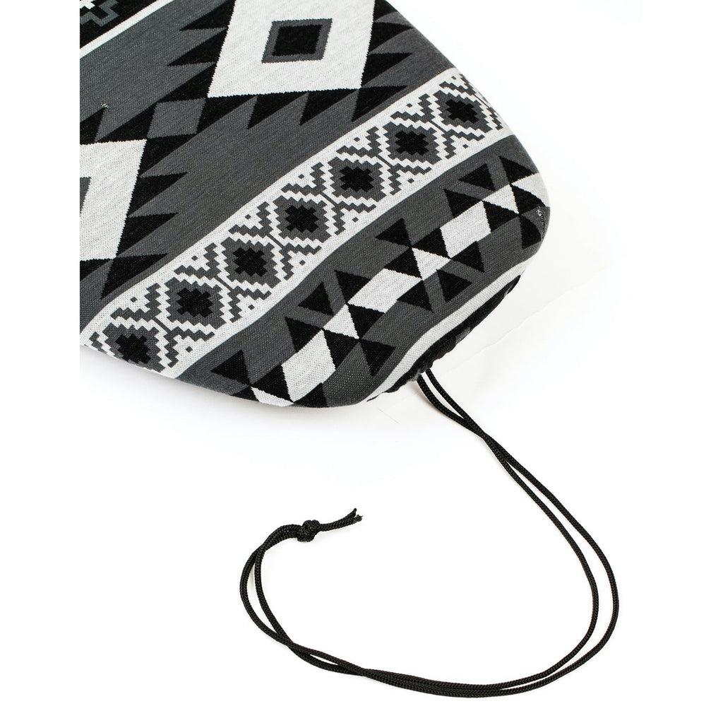 Creature of Leisure board bag - Stretch bag - Fish Aztec Sox: Grey Charcoal