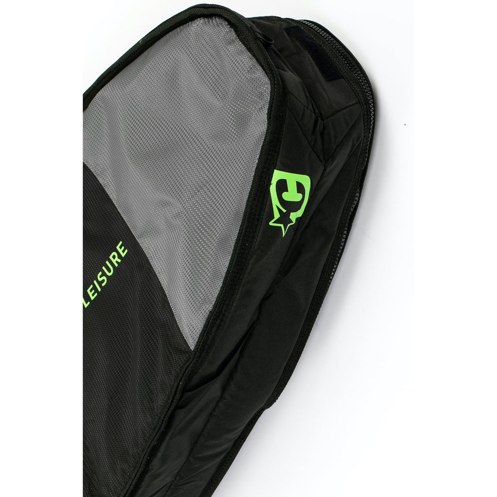 Creatures of Leisure board bag - Fish Double : Black Lime