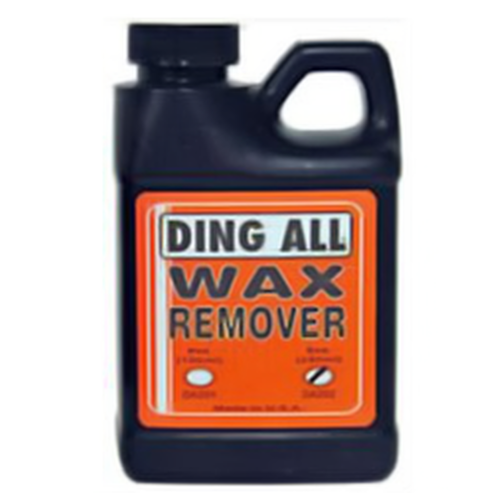 Maintenance  - Ding All Wax Remover
