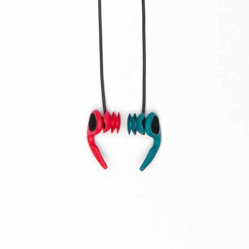 Protective Gear (Surf) - Ears - SurfEars 3.0 Red Teal