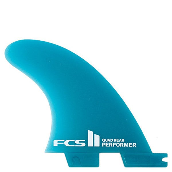 FCS II Performer Neo Glass Quad Rear Fin Set-Medium