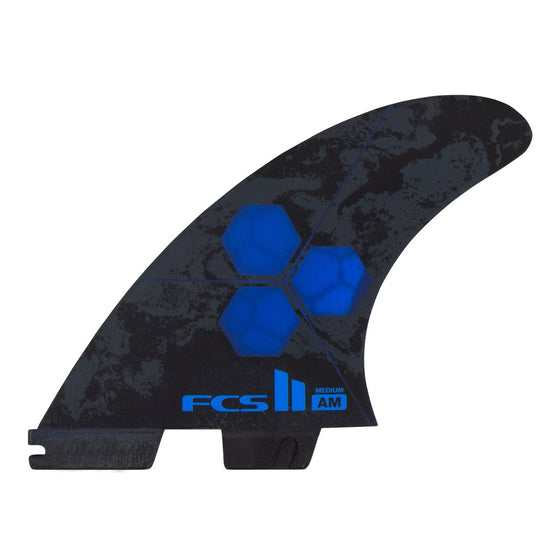 FCS II THRUSTER - AM PC Medium Cobalt Tri Retail Fins