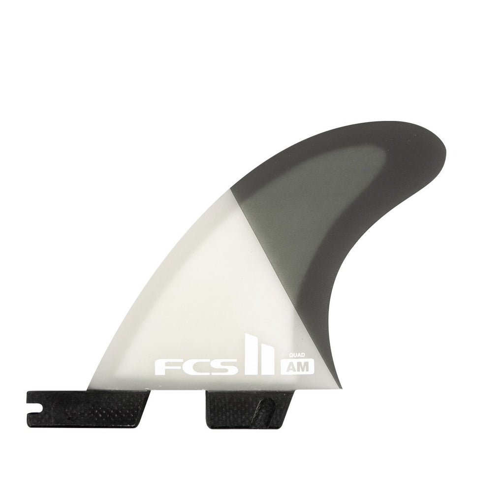 FCS II 5 FIN - Al Merrick's 'AM' PC Large Grey Fins - Air Core - Large