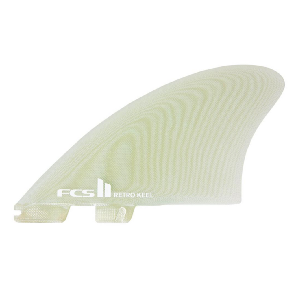 FCS II TWIN - Retro PG Twin Fins - Clear