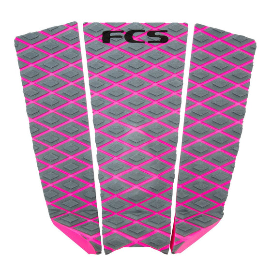 Deck pads - FCS Fitzgibbon Purple/Bright Pink