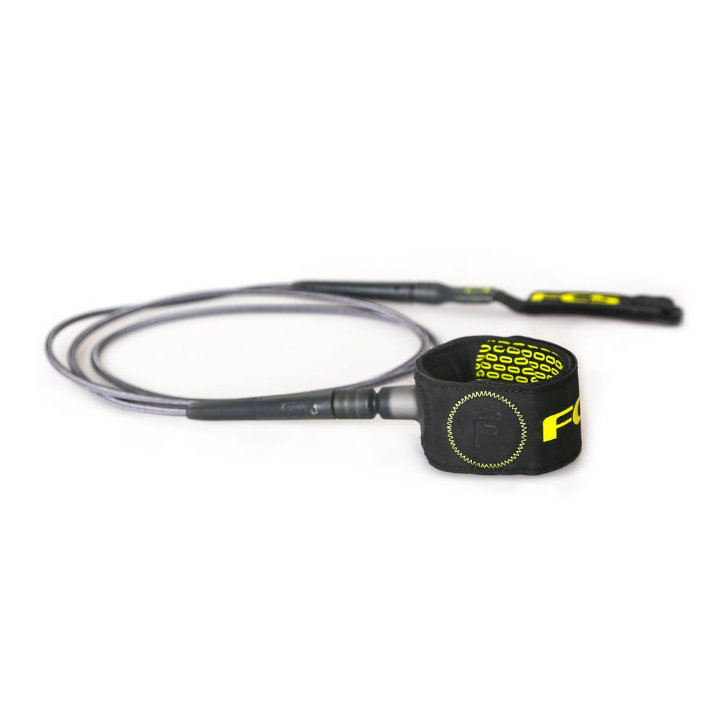 Leashes - FCS Freedom Leash 6ft - Charcoal/Green