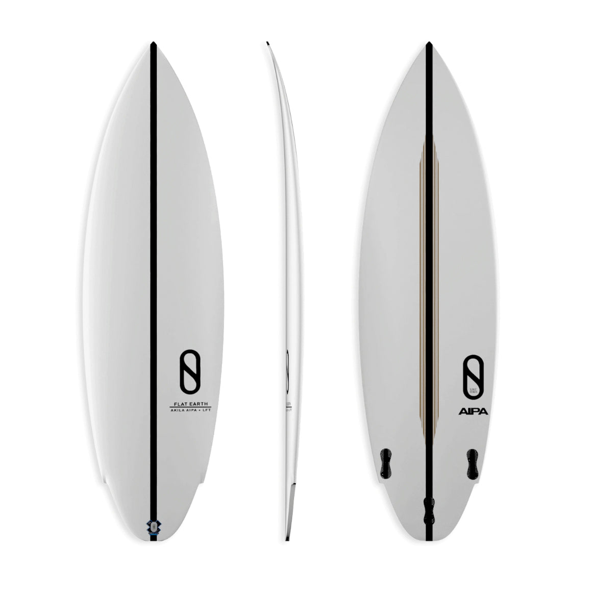 Firewire Slater Designs Flat Earth 5'8 - Futures