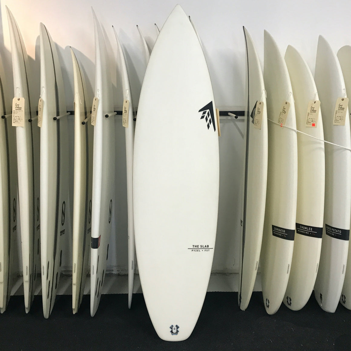 Firewire 6'2 Pyzel - The Slab - FST - Futures Fins
