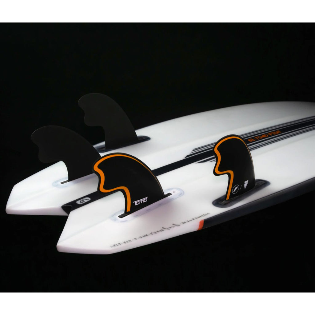 Futures QUAD - Tomo Fibreglass Quad - Black/Orange