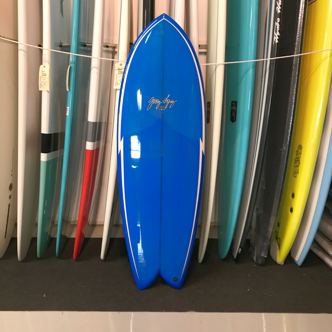 Gerry Lopez 5'6 Something Fishy Quad-fin