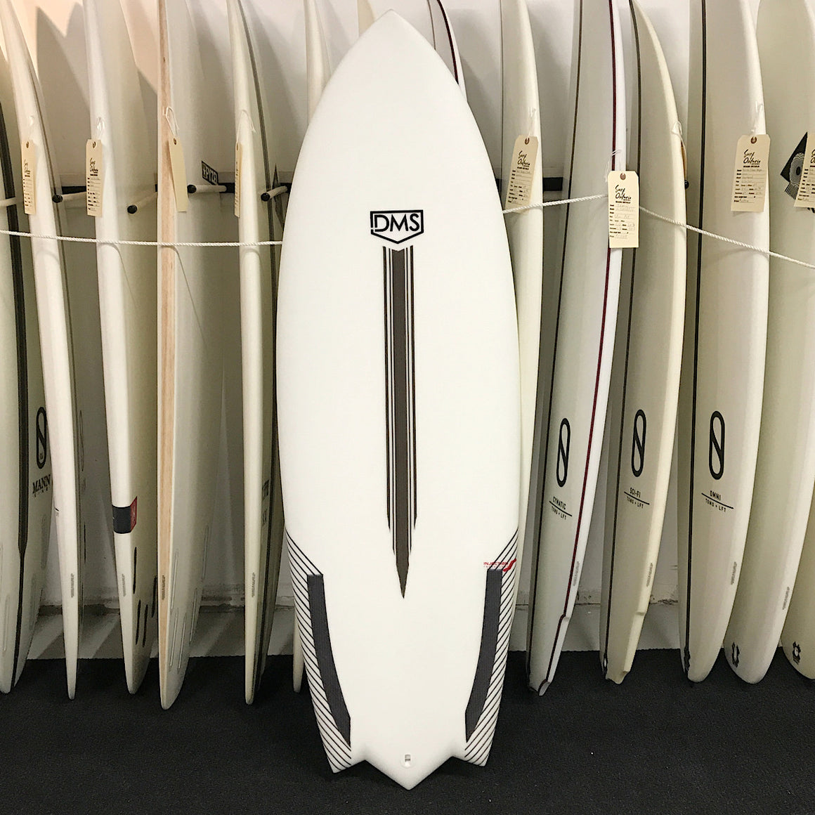 DMS - 5'4 Gherkin Injection-tech - FCS2 5 fin
