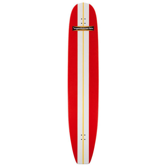 "Hamboards Bamboo Classic 6'6"" RED"
