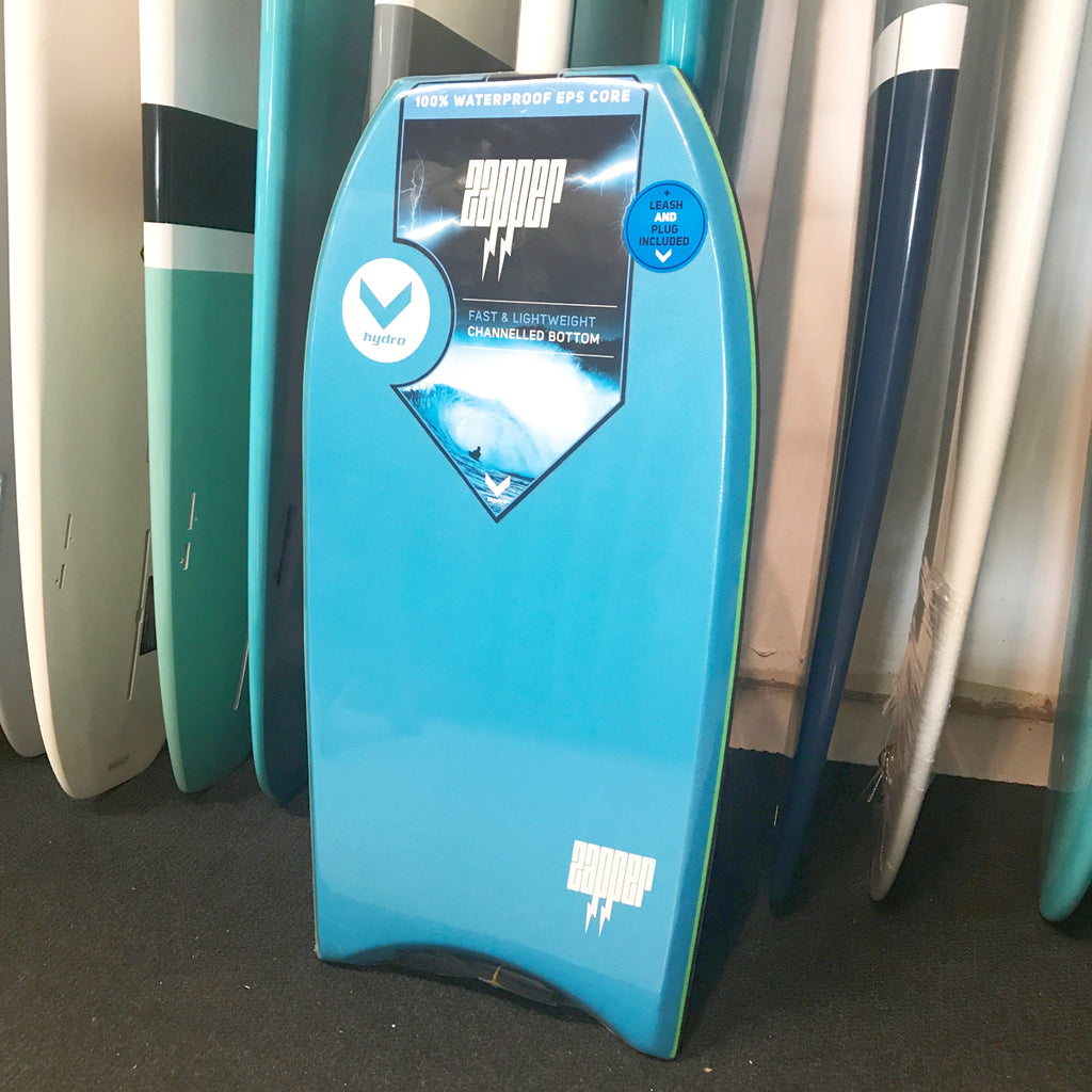 "Hydro BodyBoard - Zapper 38"" Light Blue"