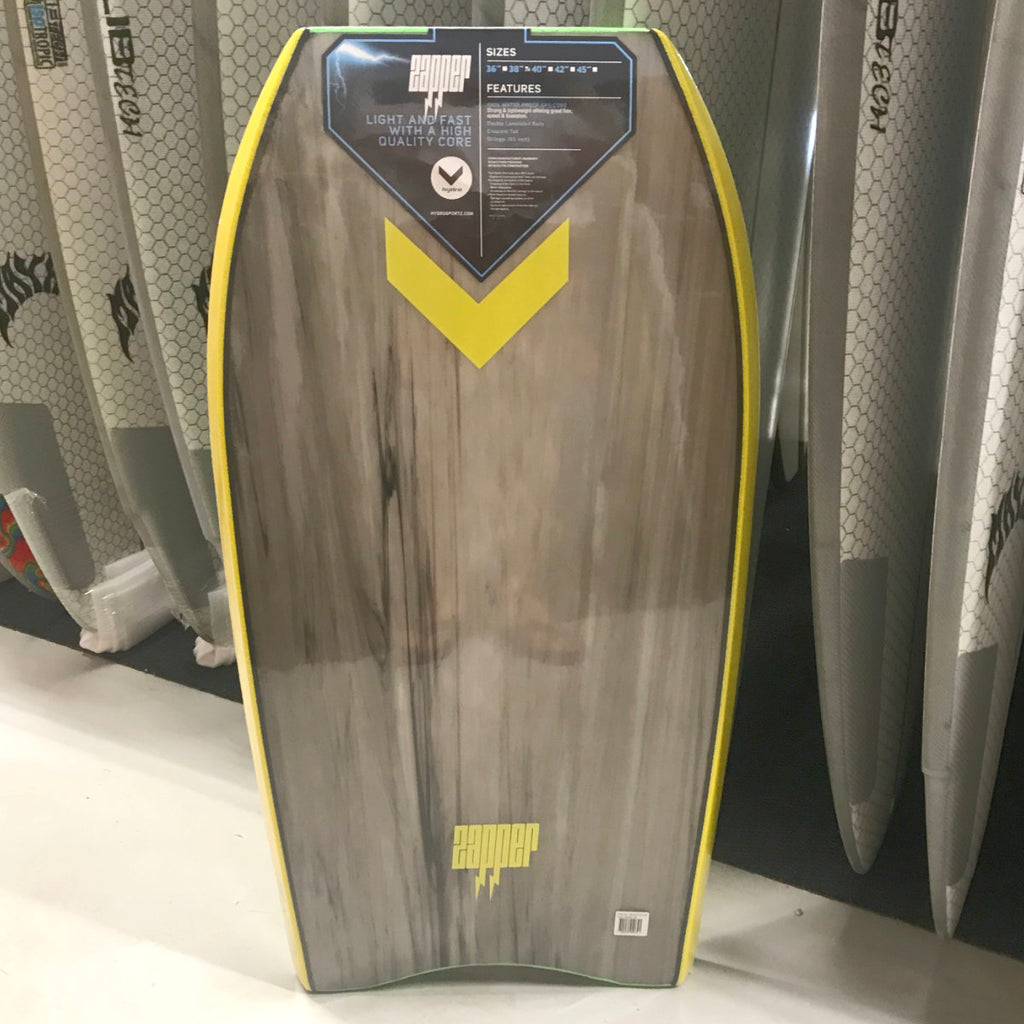 "Hydro BodyBoard - Zapper 38"" Green"