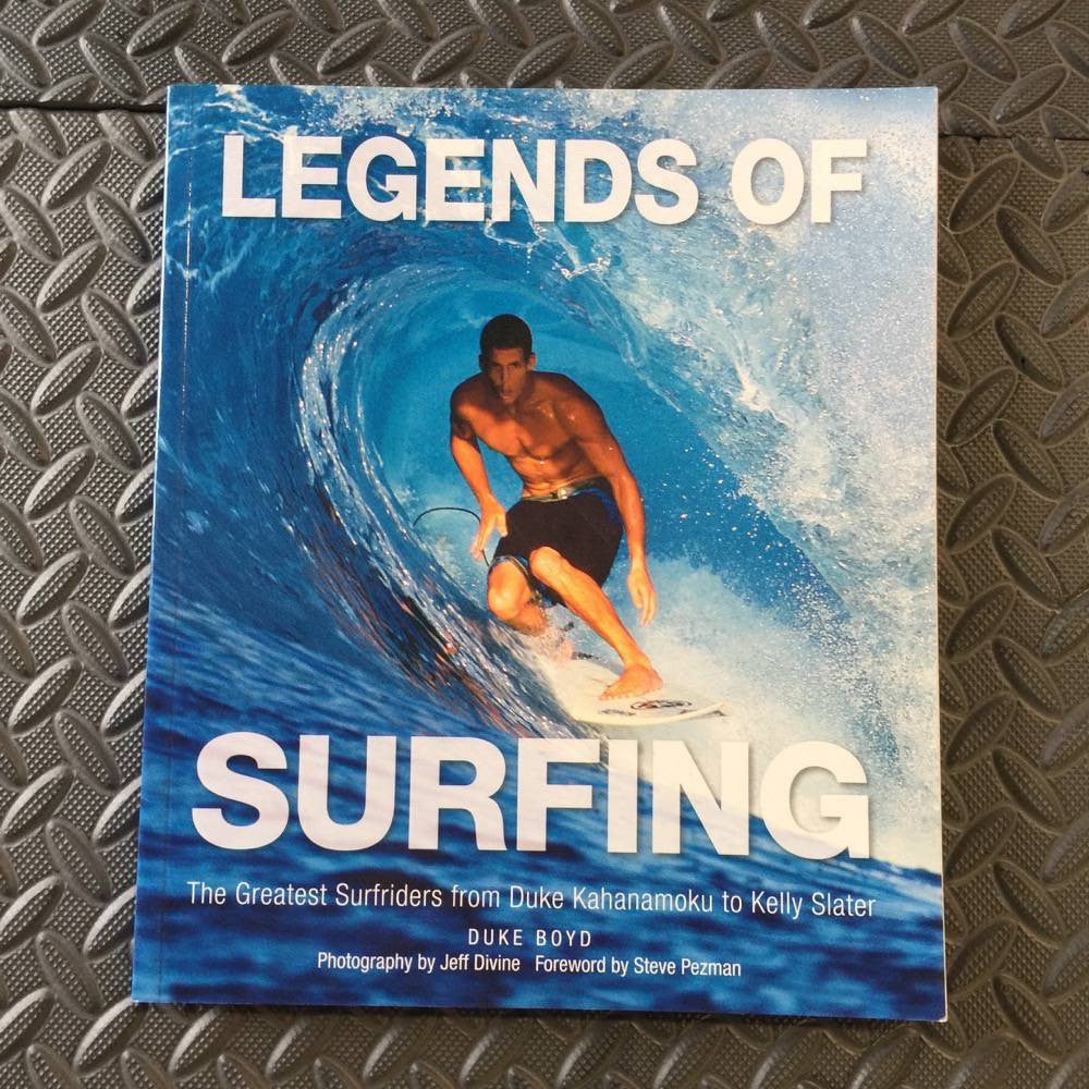Books - Legends of surfing