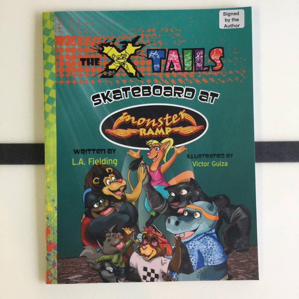 Books - Skateboard at Monster Ramp - Surf Ontario