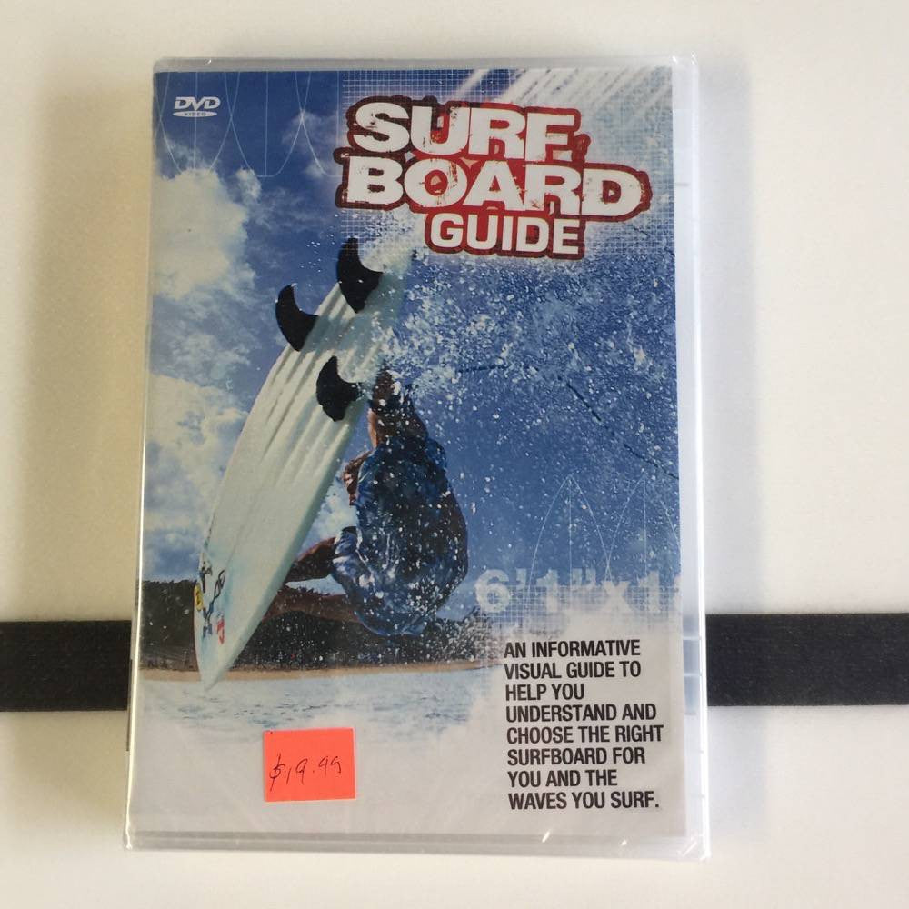 DVD -  Surfboard guide - Surf Ontario
