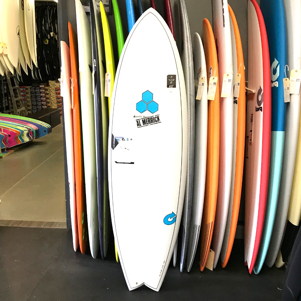 Channel Islands PodMod 6'2 - 5 fin FUT - X-LITE