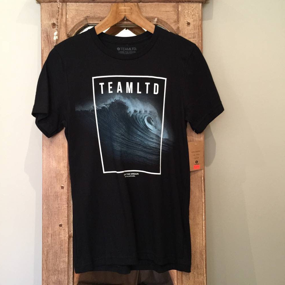 T-Shirt - Team LTD Black Wave - Surf Ontario