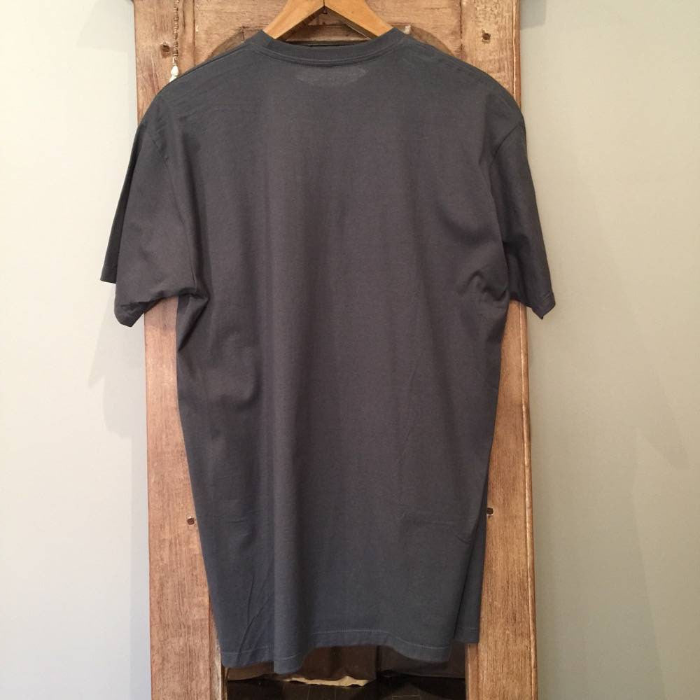 T-Shirt - Lost Fussed Logo Tee - grey - Surf Ontario
