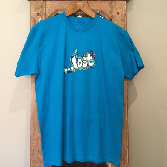 T-Shirt - Lost Fussed Logo Tee - TRQ - Surf Ontario