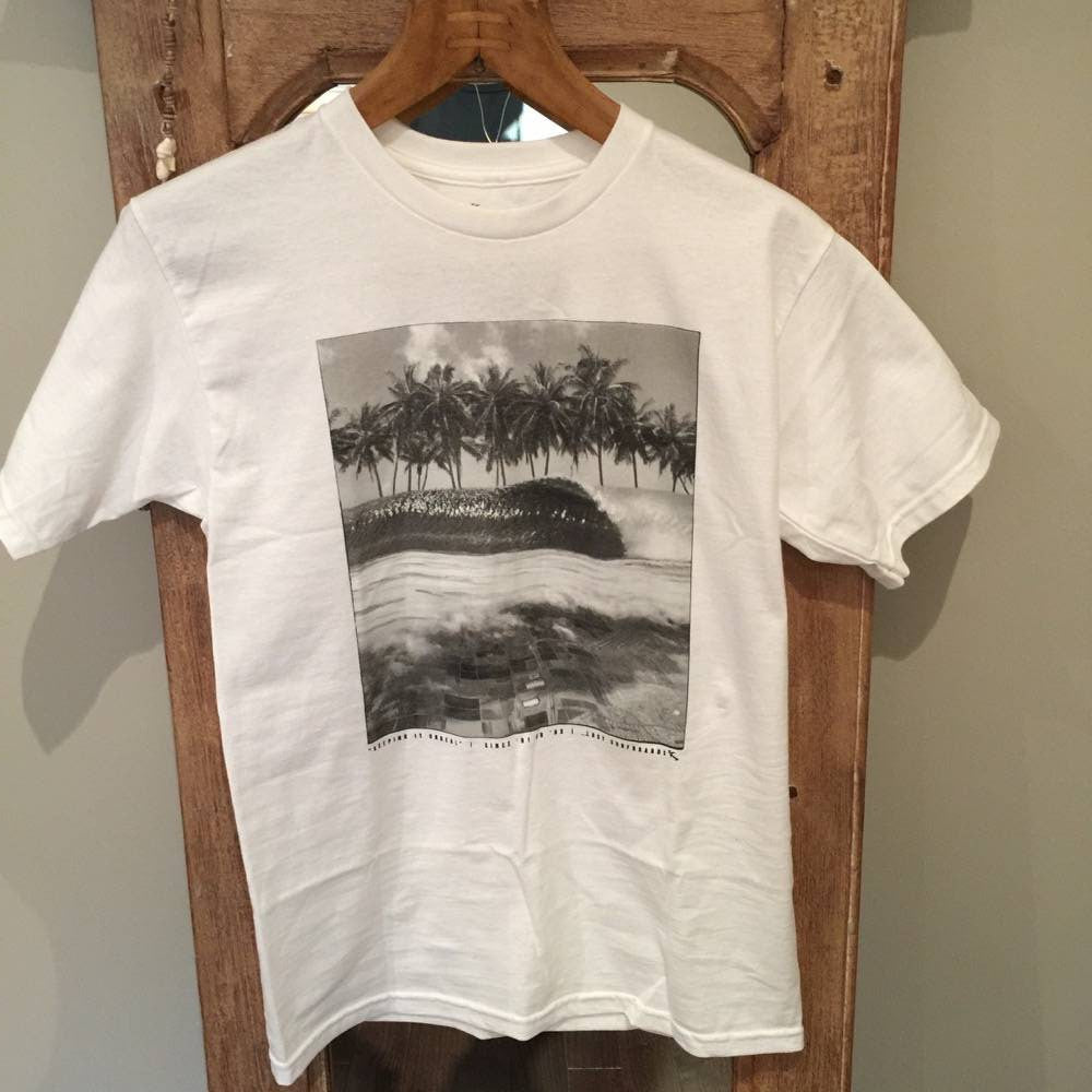 T-SHIRT - Sky High White - Surf Ontario