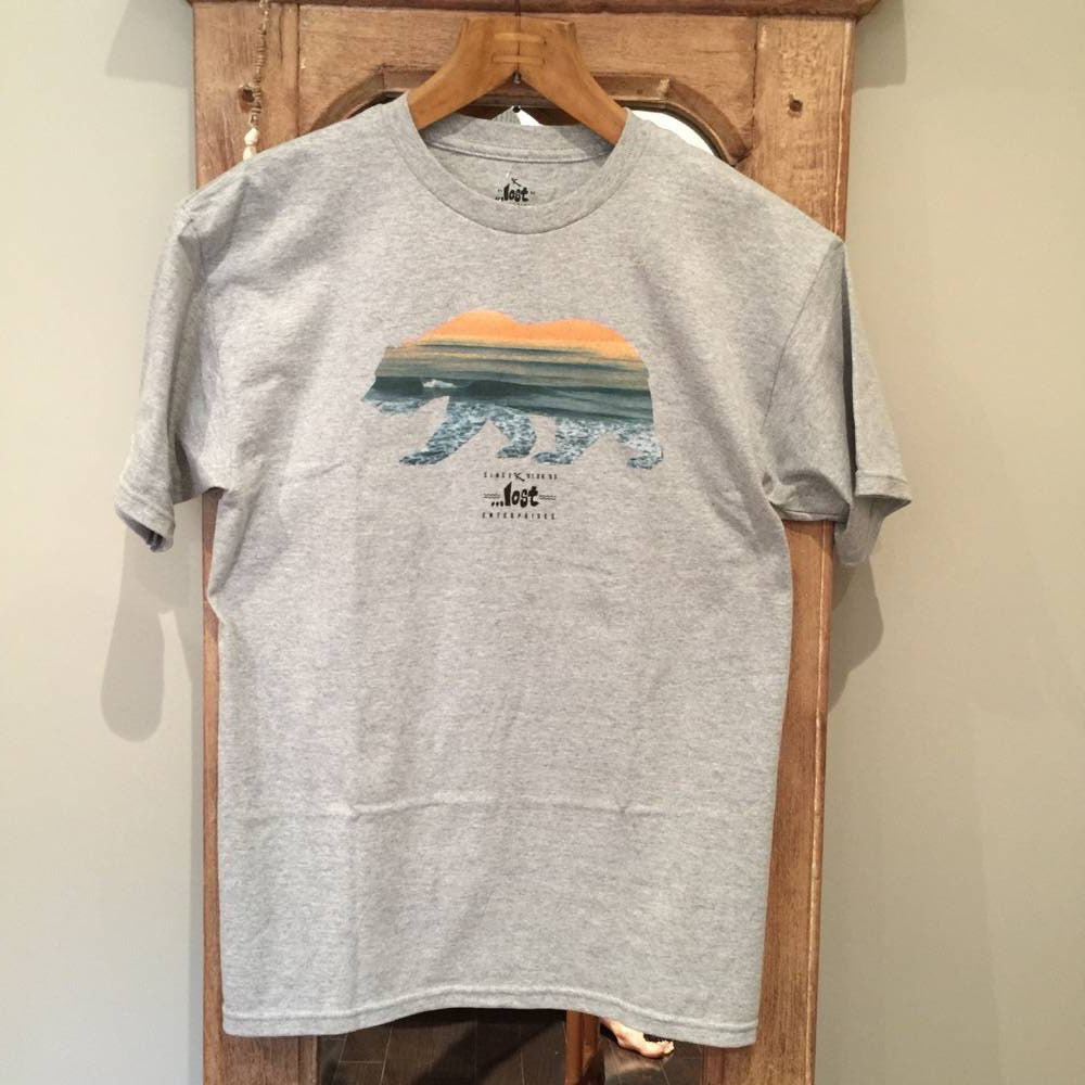 T-Shirt - Lost Cali Bear - Surf Ontario