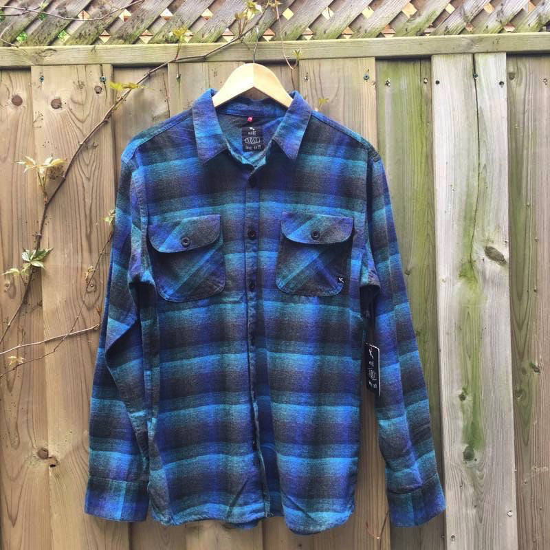 SHIRT - Mens Lost Longsleeve shirt - BLU - Surf Ontario